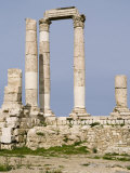 Temple of Hercules, Citadel, Amman, Jordan, Middle East Photographic Print by Richardson Rolf