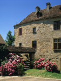 Medieval Village of Loubressac, in Lot, Midi Pyrenees, France Photographic Print by Richardson Rolf
