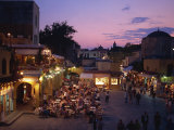 Sandriavani Square in Rhodes Old Town, Rhodes, Dodecanese, Greek Islands, Greece Photographic Print by Teegan Tom