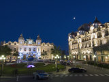 Place Du Casino at Dusk, Monte Carlo, Monaco, Europe Photographic Print by Pitamitz Sergio