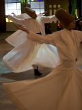 Dervish Mystic Dance at the Sirkeci Station, Istanbul, Turkey, Eurasia Photographic Print by Olivieri Oliviero