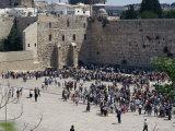 Wailing Wall, Jerusalem, Israel, Middle East Photographic Print by Tovy Adina