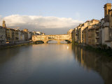Arno River and Ponte Vecchio, Florence, Tuscany, Italy, Europe Photographic Print by Olivieri Oliviero