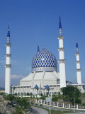 Selangor State Mosque, Shah Alam, Selangor, Malaysia Photographic Print by Tovy Adina