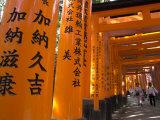 Pilgrims, Fushimi Inari Taisha Shrine, Kyoto, Kansai, Honshu, Japan Photographic Print by Simanor Eitan