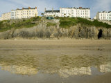 South Beach, Tenby, Pembrokeshire, Wales, United Kingdom, Europe Photographic Print by Richardson Rolf