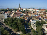 City Skyline, Tallinn, Estonia, Baltic States, Europe Photographic Print by Simanor Eitan