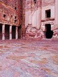 Urn Tomb, Petra, UNESCO World Heritage Site, Jordan, Middle East Photographic Print by Schlenker Jochen