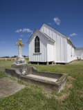 Wheriko Anglican Church, Manawatu, North Island, New Zealand, Pacific Photographic Print by Smith Don