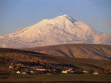 Snow Covered Mount Ararat, 5165M, Armenia, Anatolia, Turkey Minor, Eurasia Photographic Print by Woolfitt Adam