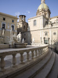 Fontana Pretoria, Palermo, Sicily, Italy, Europe Photographic Print by Olivieri Oliviero