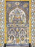 Islamic Tilework, Gurgi Mosque, Built in 1833 by Mustapha Gurgi, Tripoli, Libya Photographic Print by Rennie Christopher