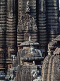 Lingaraja Temple, Bhubaneswar, Orissa State, India Photographic Print by Woolfitt Adam
