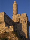 Walls and the Citadel of David in Jerusalem, Israel, Middle East Photographic Print by Simanor Eitan