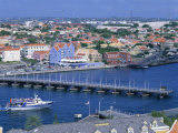 St. Anna Bay, Willemstad, Curacao, Netherlands Antilles, West Indies Photographic Print by Tovy Adina