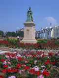 Statue of Queen Victoria in Victoria Park, Jersey, Channel Islands, United Kingdom, Europe Photographic Print by Tovy Adina