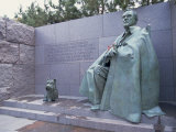 Memorial to Fdr, in Washington Dc, United States of America, North America Photographic Print by Wright Alison