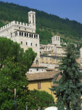 Consul's Palace at Gubbio in Umbria, Italy, Europe Photographic Print by Richardson Rolf