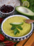 Guacamole Sauce, Mexican Food, Mexico, North America Photographic Print by Tondini Nico