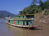Following the Mekong River by Boat to Luang Prabang, Mekong, Laos, Indochina, Southeast Asia Photographic Print by Wright Alison