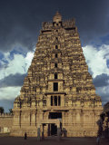 Gateway Shrine, Srirangam Temple, Tamil Nadu State, India Photographic Print by Woolfitt Adam