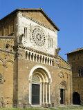 San Pietro Church, Tuscania, Viterbo, Latium, Lazio, Italy, Europe Photographic Print by Tondini Nico