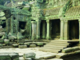 Ta Prohm Temple, Angkor, UNESCO World Heritage Site, Siem Reap, Cambodia, Indochina, Southeast Asia Photographic Print by Schlenker Jochen