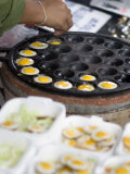 Cooking Quail Eggs, Chatuchak Weekend Market, Bangkok, Thailand, Southeast Asia Photographic Print by Porteous Rod