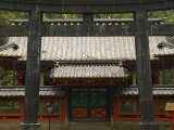 Entrance to Tosho-Gu Shrine, Nikko, Central Honshu, Japan Photographic Print by Schlenker Jochen