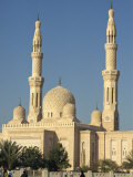 Jumeirah Mosque, Dubai, United Arab Emirates, Middle East Photographic Print by Waltham Tony