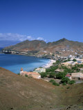 Bay and Town of Mondelo on Sao Vicente Island, Cape Verde Islands, Atlantic Ocean, Africa Photographic Print by Renner Geoff
