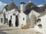 Traditional Architecture of Trulli, Alberobello, UNESCO World Heritage Site, Puglia, Italy, Europe Photographic Print by Terry Sheila