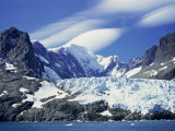 Glacier on Southeast Coast, South Georgia, Polar Regions Photographic Print by Renner Geoff