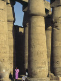 Great Temple of Amun, Karnak, Thebes, UNESCO World Heritage Site, Egypt, North Africa, Africa Photographic Print by Simanor Eitan