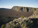 View over the Volcanic Plaine Des Sables, Piton De La Fournaise, Reunion, Indian Ocean, Africa Photographic Print by Poole David