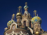 Church of the Spilt Blood in St. Petersburg, Russia, Europe Photographic Print by Woolfitt Adam