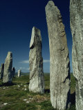 Callanish Standing Stones, Lewis, Outer Hebrides, Scotland, United Kingdom, Europe Photographic Print by Woolfitt Adam
