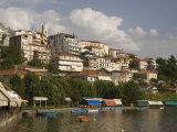 Kastoria and Lake Orestiada, Macedonia, Greece, Europe Photographic Print by Richardson Rolf