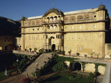 Rajput Samode Palace, Now a Hotel, Near Jaipur, Rajasthan State, India Photographic Print by Wilson John Henry Claude