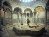 Turkish Bath, Cagaloglu Hamami, Istanbul, Turkey, Europe Photographic Print by Woolfitt Adam