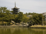 Five Storey Pagoda and Sarusawa Pond, Nara, Japan Photographic Print by Richardson Rolf