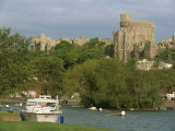 Windsor Castle and River Thames, Berkshire, England, United Kingdom, Europe Photographic Print by Woolfitt Adam