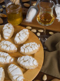 Italian Cakes, Ricciarelli of Siena, Tuscany, Italy, Europe Photographic Print by Tondini Nico