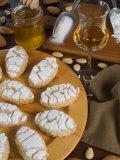 Italian Cakes, Ricciarelli of Siena, Tuscany, Italy, Europe Photographic Print by Tondini Nico