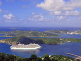 Charlotte Amalie, Capital of United States Virgin Islands, West Indies, Caribbean Photographic Print by DeFreitas Michael