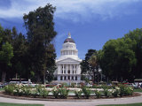 Exterior of the State Capitol Building, Built in 1874, Sacramento, California, USA Photographic Print by Traverso Doug