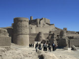 Medieval Mud Brick City with 17th Century Safavid Citadel, Arg-E Bam, Bam, Iran, Middle East Photographic Print by Rennie Christopher