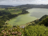 Furnas Lake, Sao Miguel Island, Azores, Portugal, Europe Photographic Print by De Mann Jean-Pierre