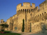 Exterior View of the Ramparts, City Walls, Avignon, Vaucluse, Provence, France Photographic Print by Morandi Bruno