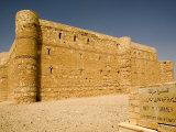 Karanneh Desert Fort, Jordan, Middle East Photographic Print by Richardson Rolf